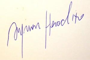 Assinatura Ayrson Heráclito